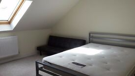 Master bedroom for rent with own bathroom, full SKY TV package, Bedminster, near Parson St station
