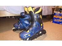 UK size 8 skates.