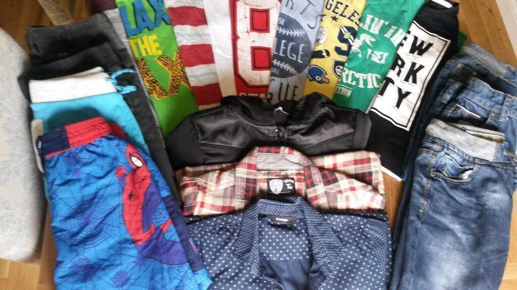 Excellent value boys clothes bundle Age 6-7. 19 plus items