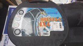 Brenta-C 4x4 Snow Chains Brand New