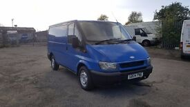ford transit with low mileage good condition
