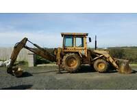 Mf 50D 4 wheel drive digger ( jcb excavator)