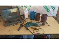 Makita 8406 110V Coring Drill + Diamond Drills