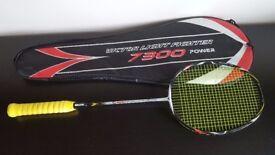 Victor Light Fighter 7300 Badminton Racket (Yonex BG80 String)