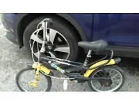 Kids chopper style bike