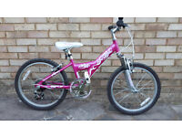 """Raleigh Diva 20"""" wheel - Pink Bike - Great second hand condition"""