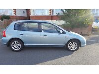 Honda Civic 1.6 2001 Lovely Clean Car For Age Full Service History. Only 2 owners from new