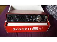 Focusrite Scarlet 2i4