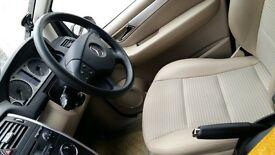 Mercedes Benz B class Black; beige leather inside