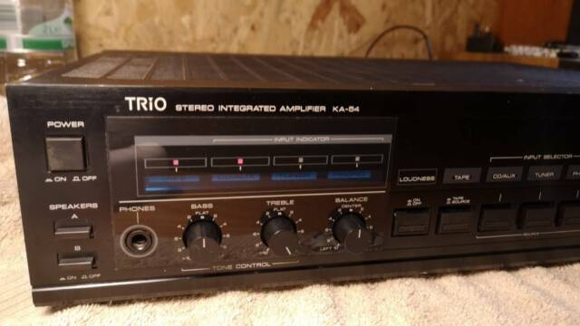 Trio Kenwood KA-54 stereo integrated amplifier vintage classic rare | in St  Annes, Bristol | Gumtree
