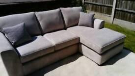 Ex Display corner sofa DFS