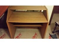 Two Tiered Wooden Desk
