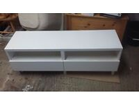 IKEA BESTA TV STAND WITH 2 DRAWERS NEEDS A NEW HOME