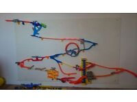 Hot Wheel Wall - 4 different sets