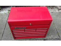 Snap on tool chest/top box