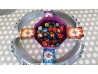 Bakugan battle brawler toys and arena with cards