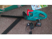 BOSCH Electric cordless hedge trimmer