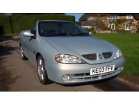 03 Renault Megane Convertible Top Spec 2.0 Privilege ** Bargain