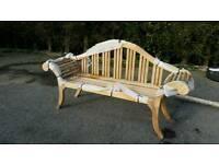 Teak Bali bench