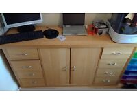"""Sideboard Large """"Next"""" beech solid"""