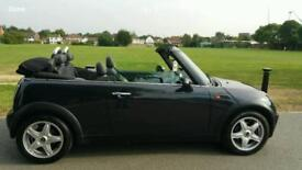 MINI COOPER CABRIOLET/CONVERTIBLE (COOPER S BODY KIT) TWIN EXHAUST, RADIO,CD FRESH RUNFLAT TYRES