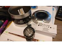 Casio Edifice Wave Ceptor Watch - EQW-M1100DB-1AER