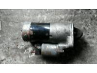 Vectra C starter motor and air-con compressor in good working order