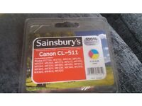CANON CL-511 INK COLOUR INK CARTRIDGE