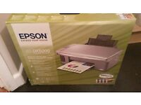 EPSON DX5000 ALL IN ONE PRINTER SCANNER COPIER BOXED EX CON