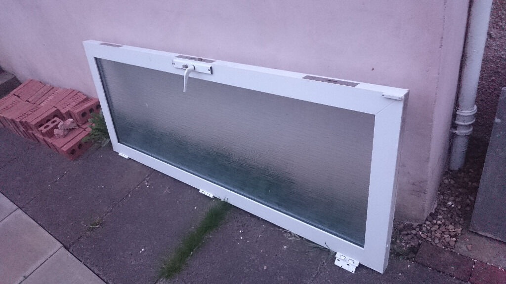 UPVC/GLASS EXTERNAL DOOR - USED