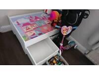 Girls toy storage