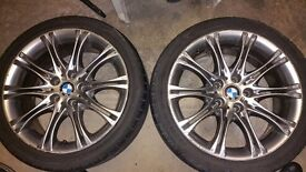 "BMW 328I COUPE MV2 18"" ALLOY WHEELS"