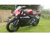 Yamaha YZF R125 2014, 11 Months Mot, Free delivery & warranty