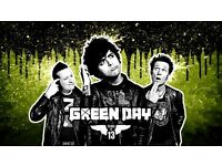 x2 GREEN DAY Tickets For Sale - BST Hyde Park - 1st July