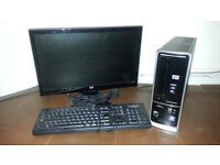 HP Pavilion Slimline s5320uk / QUAD CORE / WIFI / TV TUNER / HDMI / 20 INCH LCD / KEYBOARD MOUSE