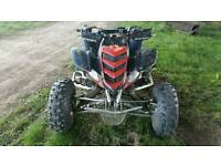 Quadzilla stinger raptor 660r engine swap farm quad crf yzf kxf