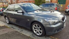 2006 BMW 525i SE Auto Grey. Top Spec with low miles. Sat Nav / Leather