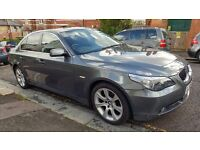 2006 BMW 525i SE Auto Grey. Top Spec with low miles. Sat Nav / Leather