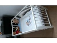 Ikea gulliver cot bed + mattress (great condition) 20gbp