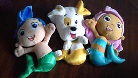 bundle of bubble guppies teddies