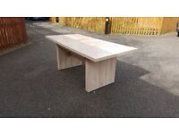 Modern Extending Dining Table 150cm-193cm FREE DELIVERY (02549)