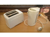 ELECTRIC Jug KETTLE Phillips and SWAN ELECTRIC TOASTER 2 slice