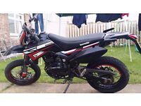 VERY LOW MILEAGE 2015 LEXMOTO ADRENALINE 125CC TRIAL'S BIKE WITH 16 MONTHS MOT LEFT.