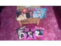 A GREAT COLLECTION OF VARIOUS ELVIS PRESLEY VINYLS LPs/EPs/SINGLES.