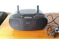 Sony CD/cassette stereo player
