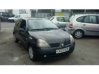 03 PLATE RENAULT CLIO. 1.2 PETROL. LONG MOT. IDEAL FIRST CAR