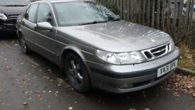 Saab 9-5 2.3t petrol + LPG spare or repair. Must go by friday 23/11