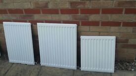 CENTRAL HEATING RADIATORS (x5)