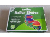 Children's in line roller skates brand new in box