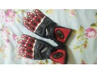 motorbike gloves small